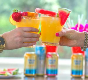 Tropical Cocktails with Palm Bay Spritz