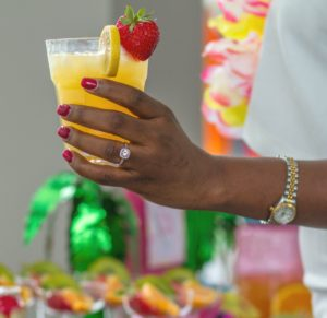 Tropical Cocktail Signature Drink
