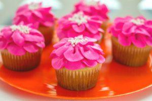 Hibiscus Cupcakes