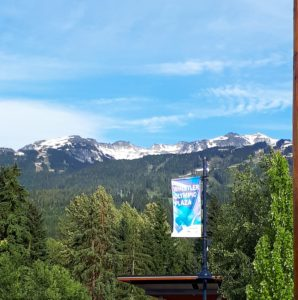 Family Vacation in Whistler Olympic Plaza