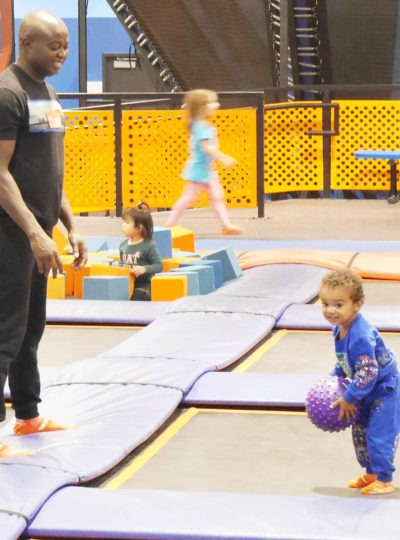 Toddler Trampoline Time at Sky Zone Surrey