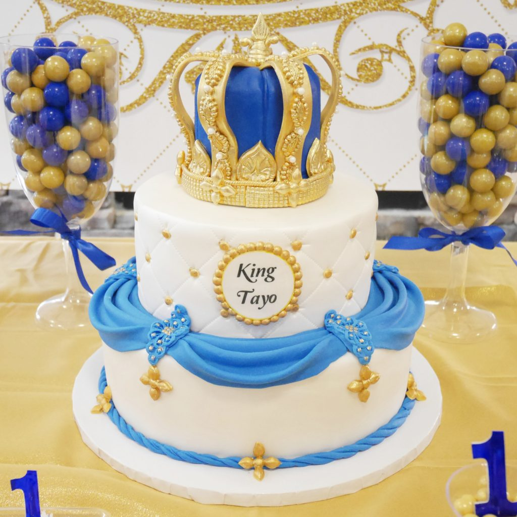 king birthday cake