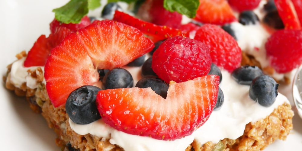 Healthy Yogurt Parfait Bars Recipe